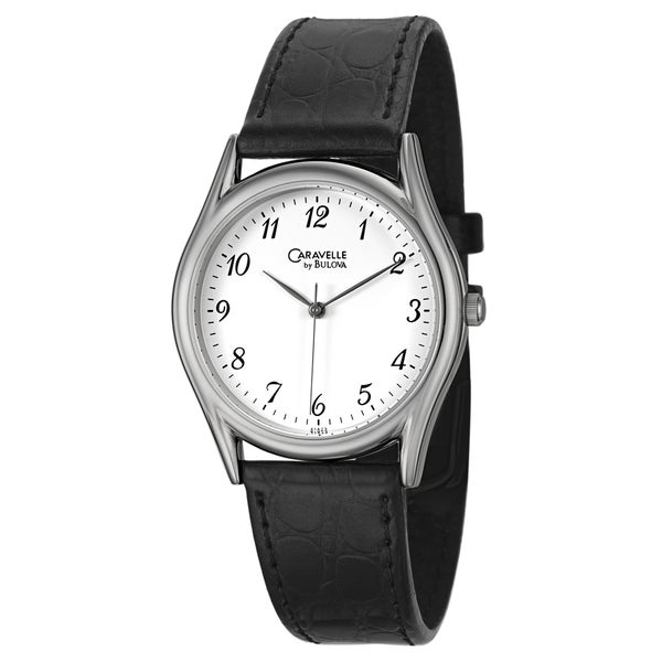 Caravelle Men's Stainless Steel Watch