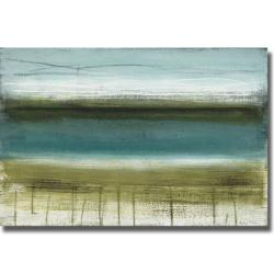 Heather McAlpine 'Shoreline Horizons' Canvas Art