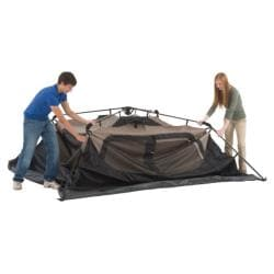 Coleman Weatherproof 150-density Fabric 6-person Instant Tent and Bag