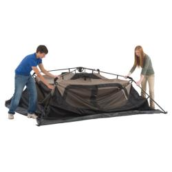 Coleman Weatherproof 150-density Fabric 6-person Instant Tent and Bag - Thumbnail 1