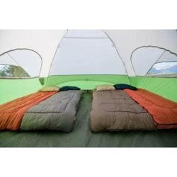 Coleman Evanston Eight-person Screened Green/White Tent (12' x 15') - Thumbnail 1