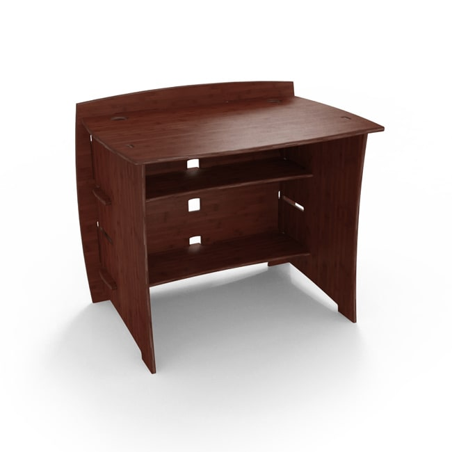 Legare Sustainable Bamboo 36-inch Desk in Espresso
