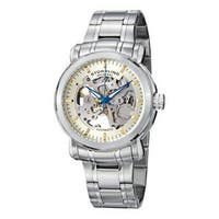 Stuhrling Original Men's 'Delphi Antium' Water-Resistant Automatic Skeleton Bracelet Watch