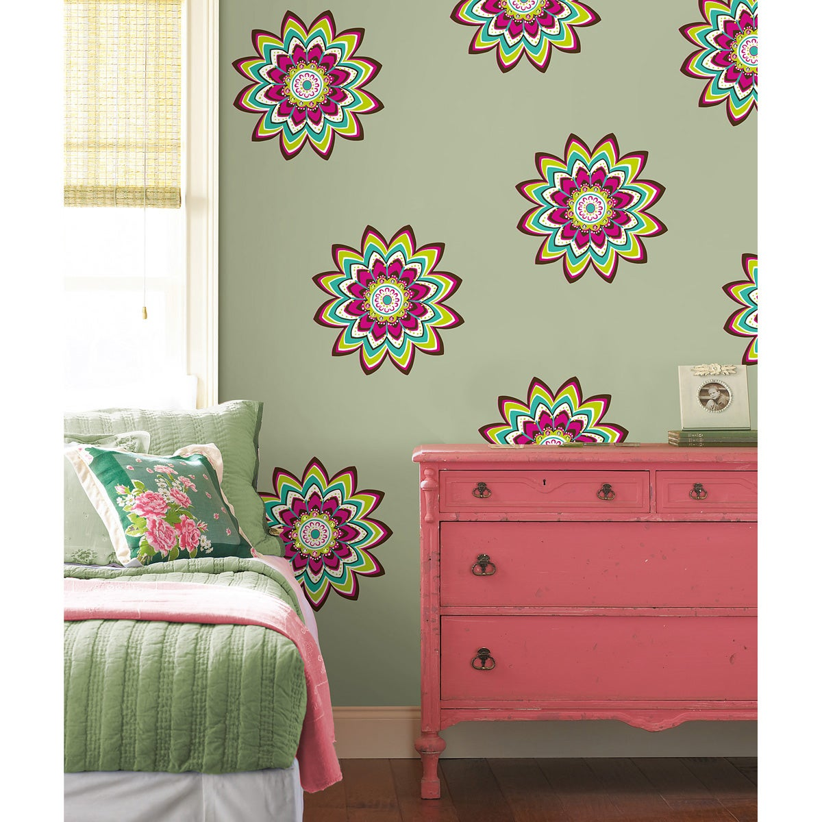 Dandelion Wall Art Stickers Shop Wall Pops Zsa Zsa Dots Wall Decals Free Shipping