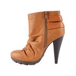 Jacobies by Beston Women's 'Tina-4' Camel Booties