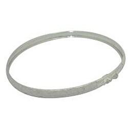 Gioelli Sterling Silver Brushed Laser-Cut Boxes Bracelet