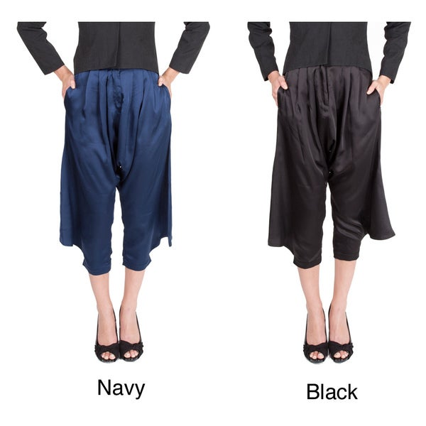 Nami Women's 'Lena' Wide-leg Tapered Pants