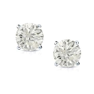 14k Gold 1ct TDW Clarity-Enhanced Diamond Solitaire Stud Earrings|https://ak1.ostkcdn.com/images/products/7123640/P14618618.jpg?impolicy=medium