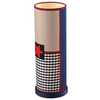 Dimond Lighting Patriotic Uplight 1-Light Dark Blue Table Lamp