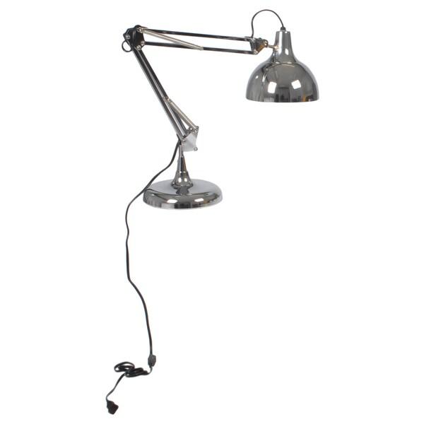 Euro Style Chrome Lalla Desk Lamp