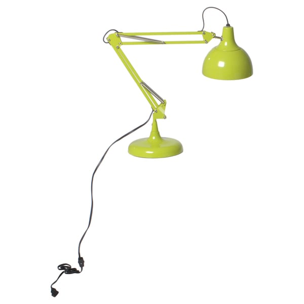 Euro Style Lime-green Lalla Desk Lamp