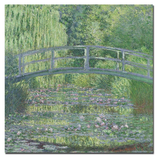 Claude Monet 'The Waterylily Pond, 1899' Canvas Art