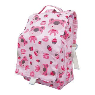 Dually Bear Print 12-inch Kids Backpack https://ak1.ostkcdn.com/images/products/7124091/P14619030.jpg?impolicy=medium