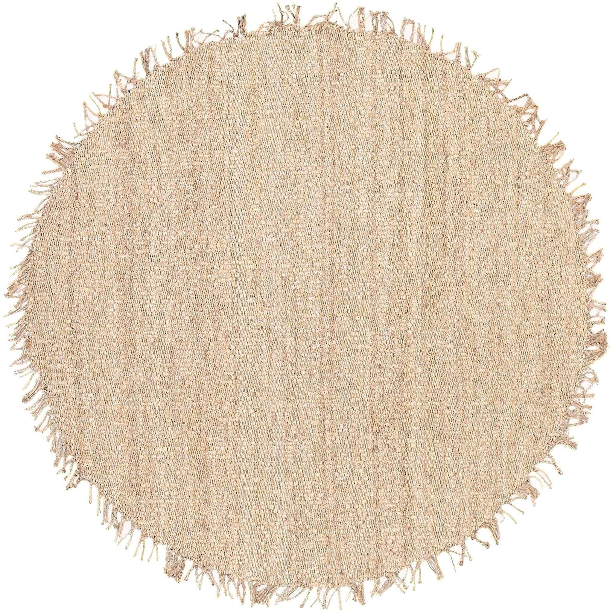 Hand Woven Kanabec Bleach Natural Fiber