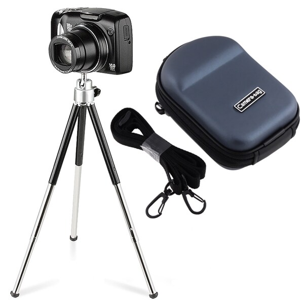 BasAcc Case/ Tripod for Nikon CoolPix S9100/ S6100/ S4100/ S3100