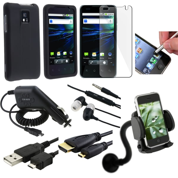 BasAcc Case/ Charger/ Headset/ Cable/ Holder/ Protector for LG G2X