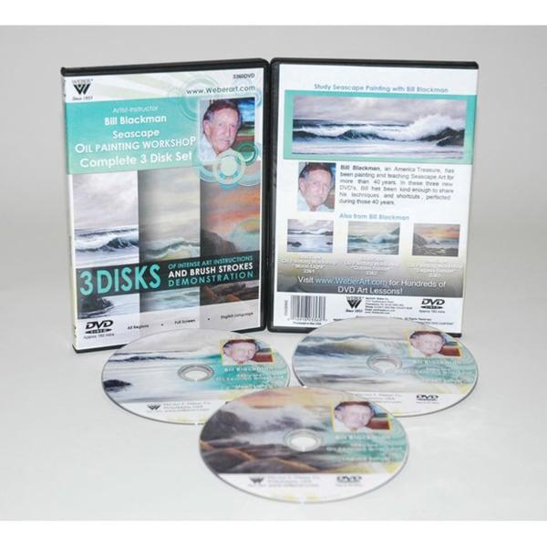 Weber Blackman Seascape Oil Painting 3-hour DVD Set