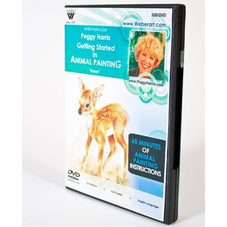 Weber Art Peggy Harris Getting Started in Animal Painting Instructional DVD (Fawn)