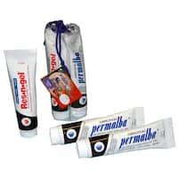 Weber Original Permalba White Oil Paint and Res-en-gel 3-tube Value Pack (150ml)