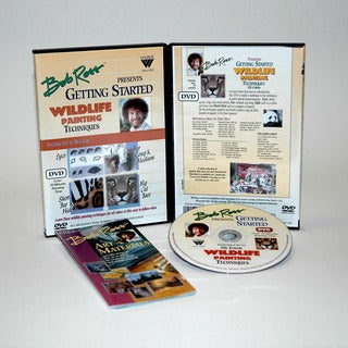 Weber Bob Ross Getting Started Wildlife 70-minute DVD