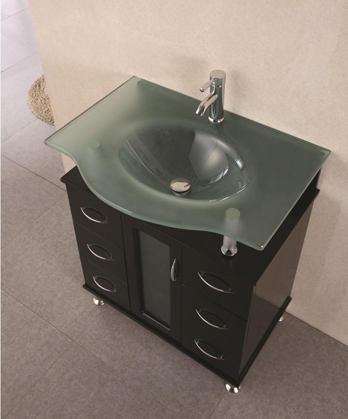 Design Element Huntington 30 Inch Modern Bathroom Vanity