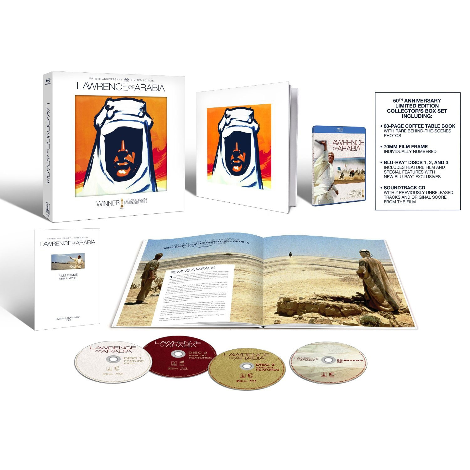 Lawrence of Arabia - 50th Anniversary Collector's Edition (Blu-ray Disc) - Thumbnail 0