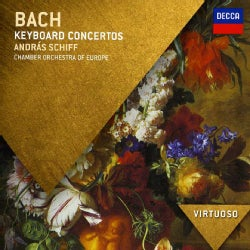 ANDRAS SCHIFF/CHAMBER ORCHESTRA OF EUROPE - VIRTUOSO-JS BACH: KEYBOARD CONCERTOS