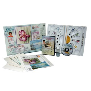 Martin F. Weber Susan Scheewe Deluxe Watercolor Set with DVD