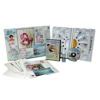 Martin F. Weber Susan Scheewe Deluxe Watercolor Set with DVD