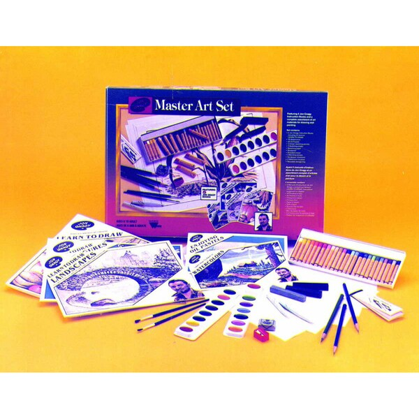 Weber Jon Gnagy Handy Master Art Studio with Instructional Booklet