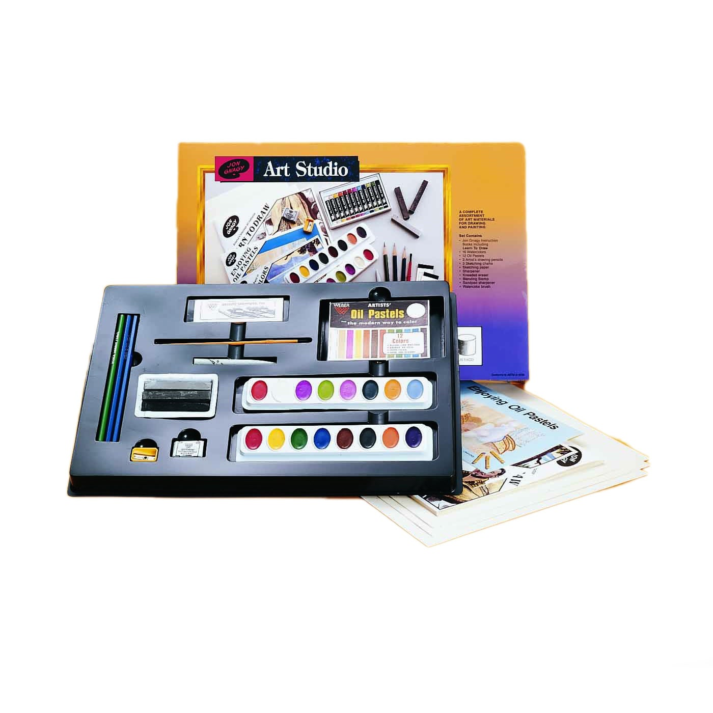 Weber Jon Gnagy Art Studio Set, Multi (Paper)