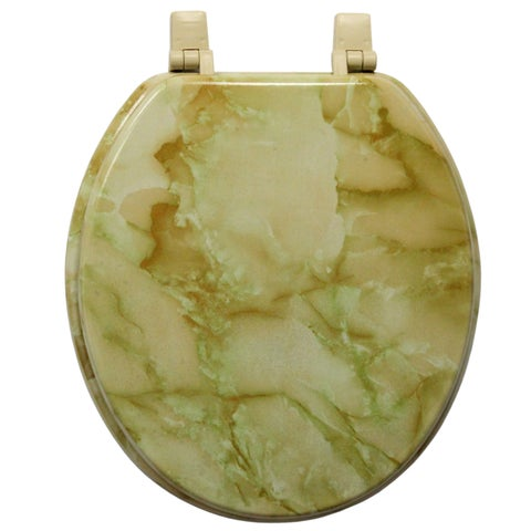 Trimmer Marble Toilet Seat
