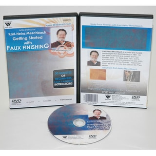 Weber Meschbach DVD Getting Started in Faux Finishing Oil Painting 1 Hour