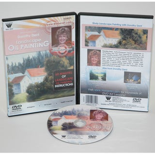 Weber Dorothy Dent Painting Oil Color-Landscapes DVD
