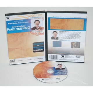 Weber Meschbach DVD Intermediate Studies of Faux Finishing Oil Painting 1 Hour