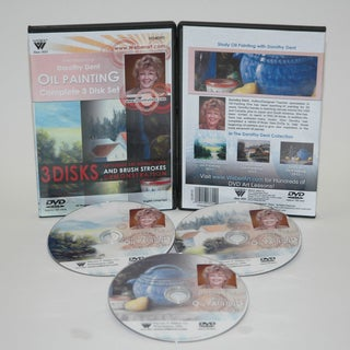 Weber Dorothy Dent Painting Oil Color Complete Set of 3311DVD, 3312 DVD, 3313DVD, & 3314DVDs. 3 Hours