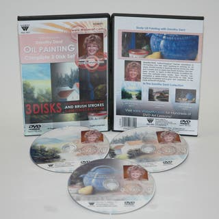 Weber Dorothy Dent Painting Oil Color Complete Set of 3311DVD, 3312 DVD, 3313DVD, & 3314DVDs. 3 Hours|https://ak1.ostkcdn.com/images/products/7136316/P14629910.jpg?impolicy=medium