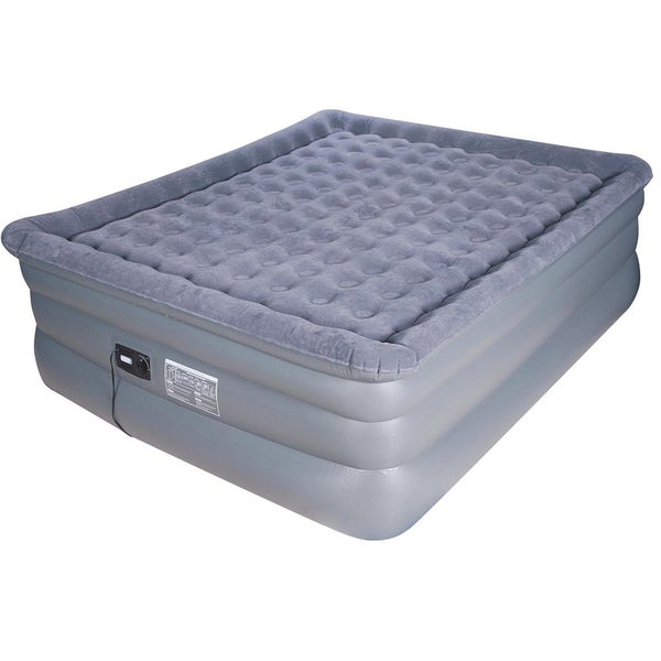 Airtek Deluxe fort Coil King size Raised Pillowtop Air