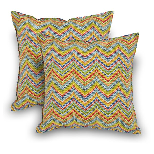 Rozelle Indoor/Outdoor Square Pillow (Set of 2)