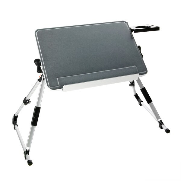 Lightweight Durable Foldable Notebook/ Laptop/ Tablet/ iPad Desk and Cup holder