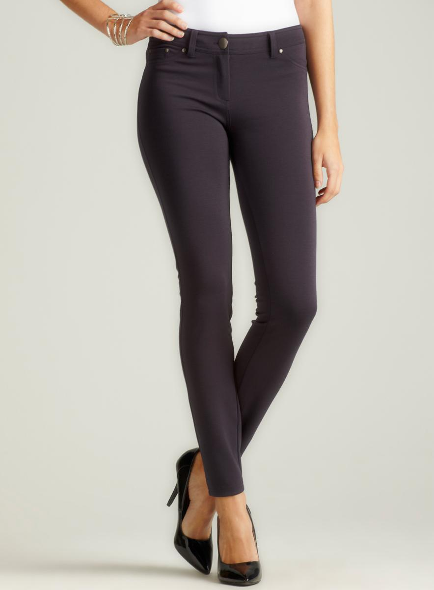 Romeo & Juliet Couture Skinny Ponte Pant