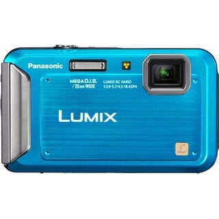 Panasonic Lumix DMC-TS20 16.1 Megapixel Compact Camera - Blue