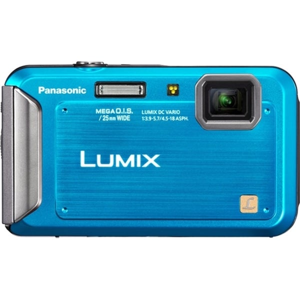 Panasonic Lumix DMC-TS20 16.1 Megapixel Compact Camera - Blue