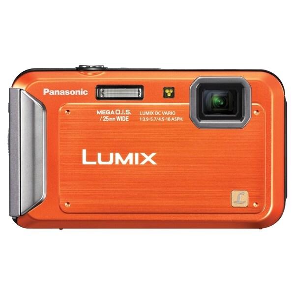 Panasonic Lumix DMC-TS20 16.1 Megapixel Compact Camera - Orange