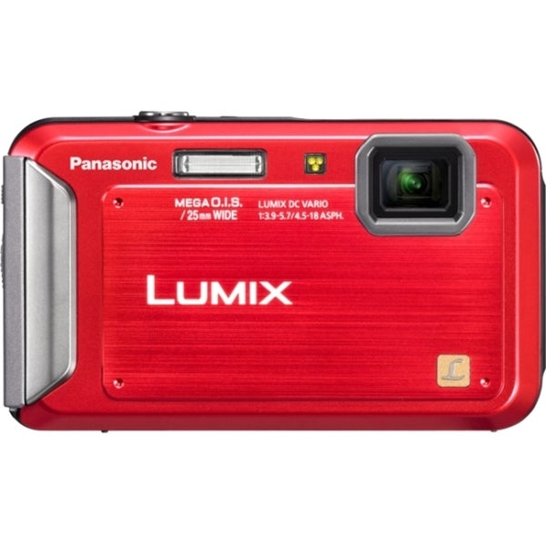 Panasonic Lumix DMC-TS20 16.1 Megapixel Compact Camera - Red
