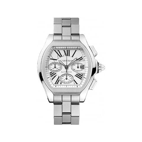 Cartier Men's W6206019 'Raodster' Automatic Stainless Steel Watch