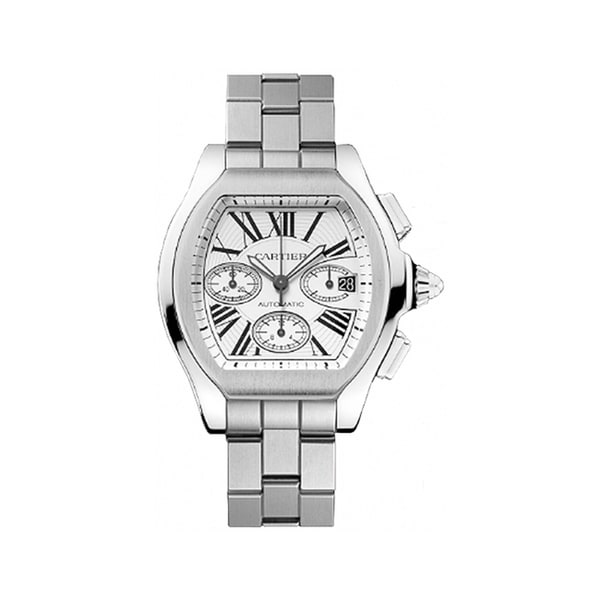 Cartier Men's W6206019 'Raodster' Automatic Stainless Steel Watch. Opens flyout.