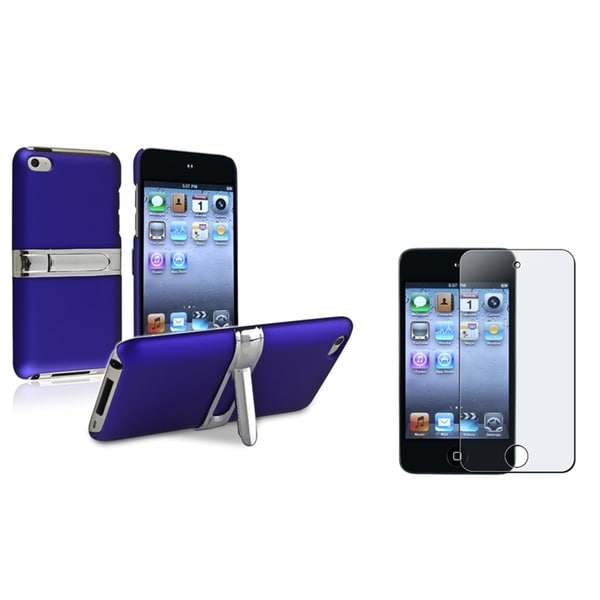 INSTEN Hard Plastic iPod Case Cover/ Screen Protector for Apple iPod Touch Generation 4