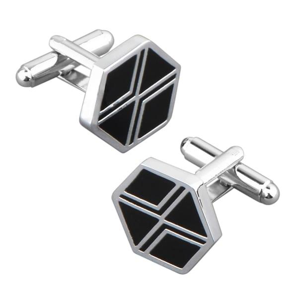 BasAcc Black Diamond Cufflink