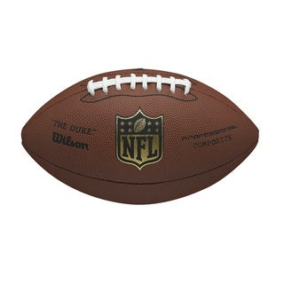 Wilson NFL 'The Duke' Pro Replica Football